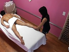 Have A Fun watching sex during massage in all smutty details